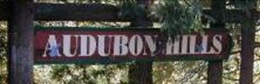 Audubon Hills Entrance Sign